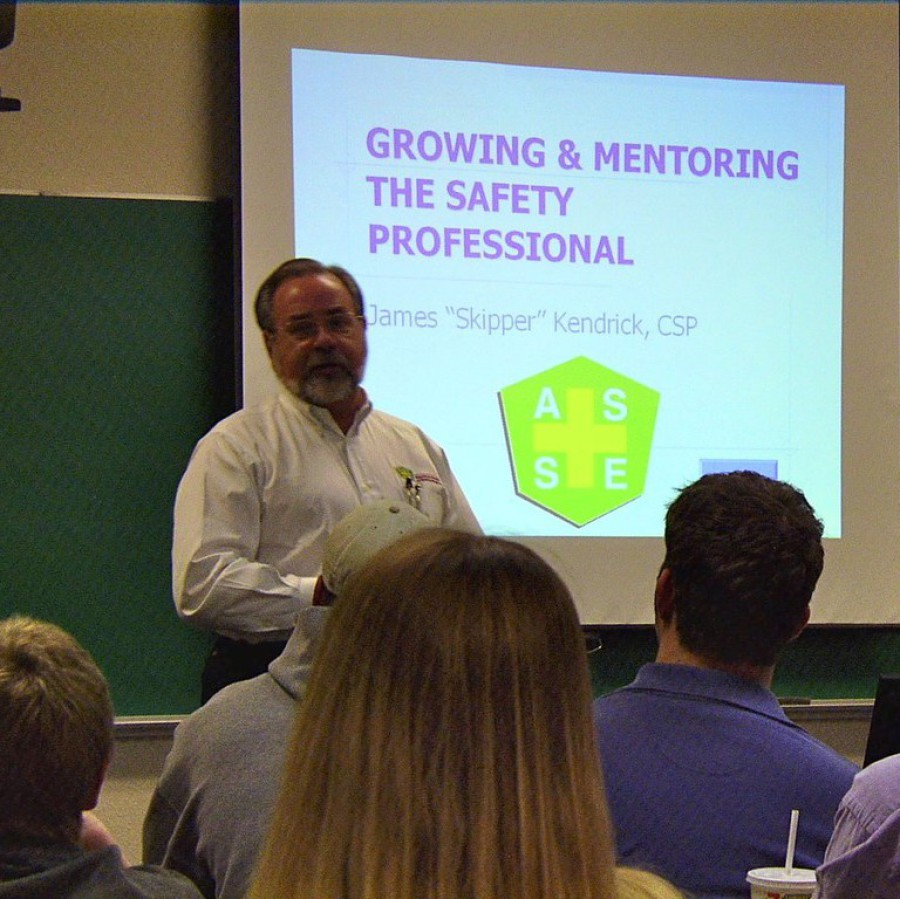 James Kendrick Presenting on Growing & Mentoring the Safety Professional